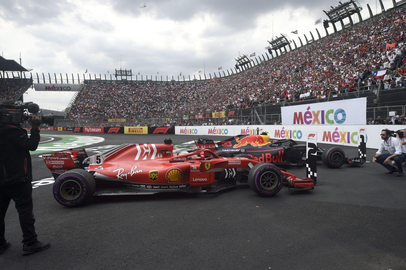 El Gran Premio de México tiene un impacto económico de 400 mdd, cifra que lo ubica por debajo de la competencia de Abu Dhabi. FOTO: Reuters