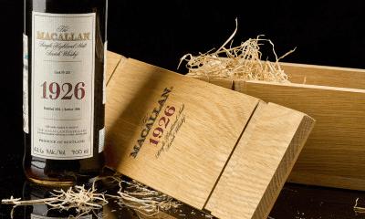 The Macallan vendió una botella de whisky en 1.9 millones de dólares. FOTO: Cortesía