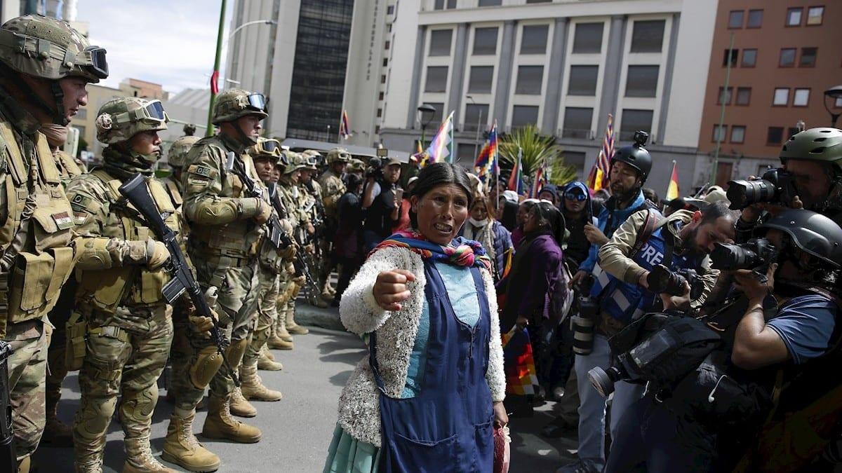 Manifestaciones en Bolivia / Foto: EFE