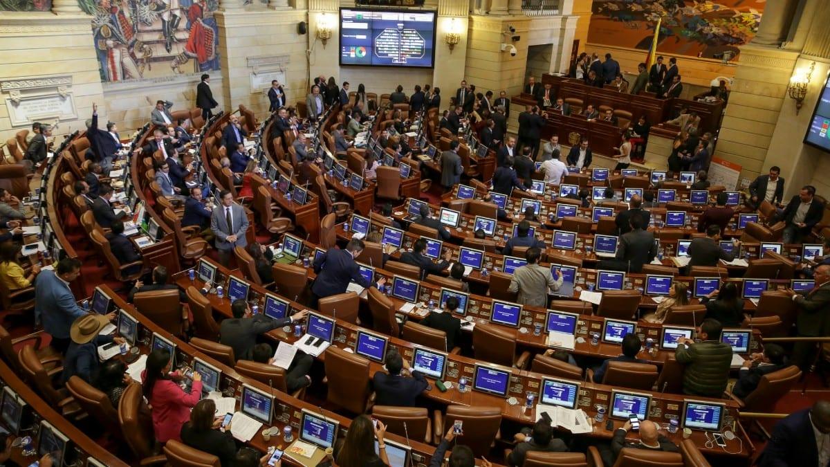 Debate de la ley de financiamiento en 2018 / Foto: Minhacienda