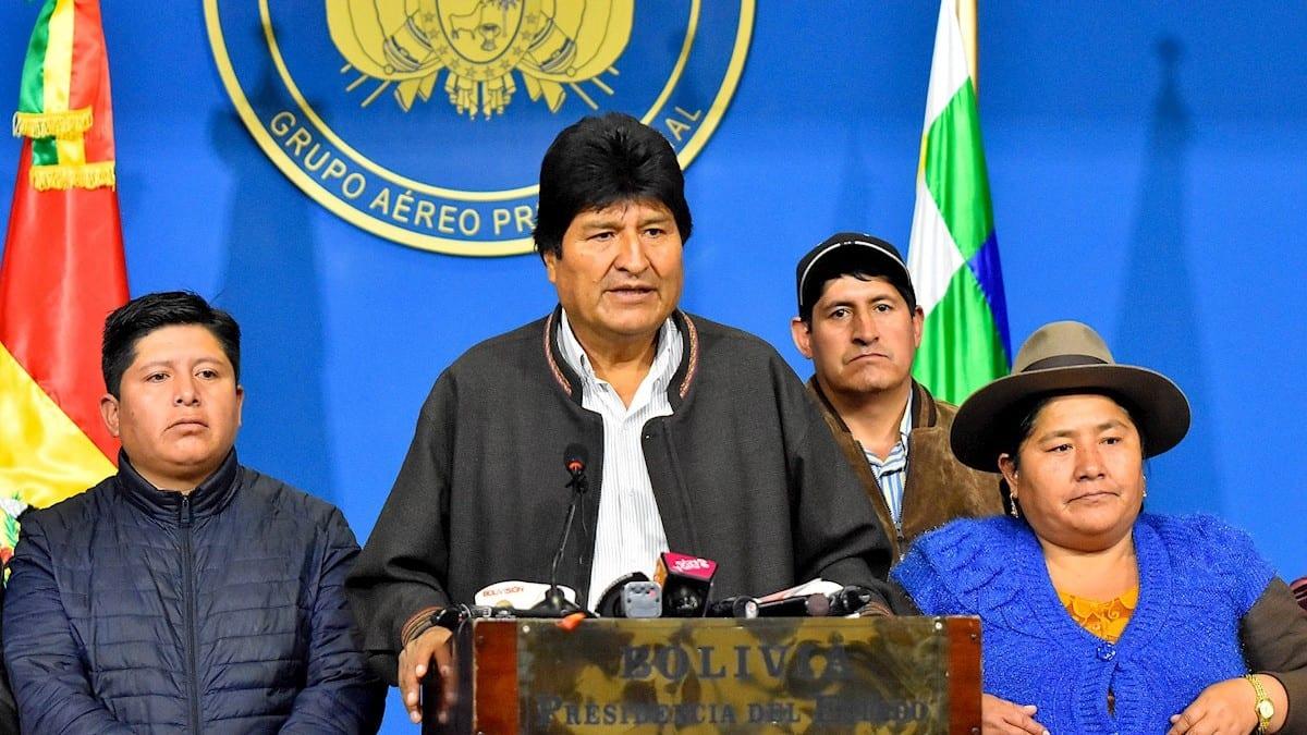 Evo Morales, prediente de Bolivia
