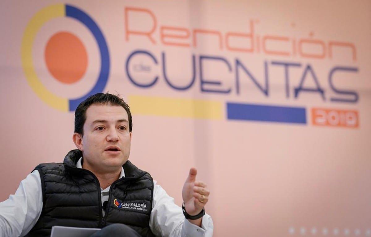 Carlos Felipe Córdoba, contralor general / Foto: Contraloría General