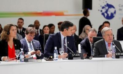 Antonio Guterres y Pedro Sánchez en la apertura de la COP 25 / Foto: EFE