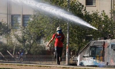 Protestas en Chile / Foto: EFE