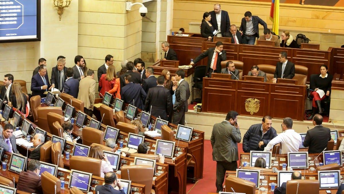 Debate en el Congreso / Foto: Minhacienda