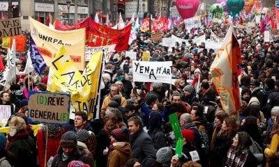 Protestas en Francia / EFE