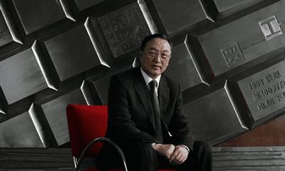 Liu Chuanzhi, fundador de la tecnológica china Lenovo,