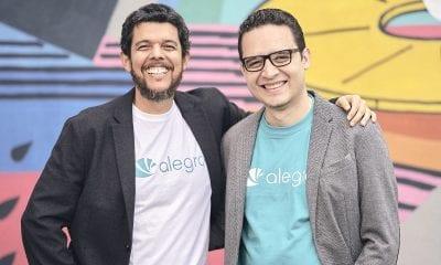 Jorge Soto y Santiago Villegas, cofundadores de Alegra.