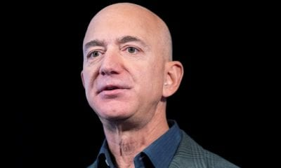 La cabeza de Jeff Bezos