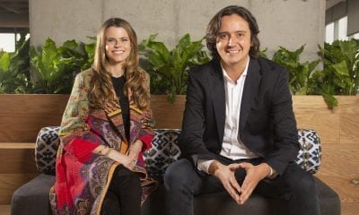 Brynne McNulty y Sebastián Noguera, fundadores de Habi