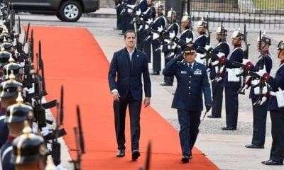 Juan Guaidó en Bogotá
