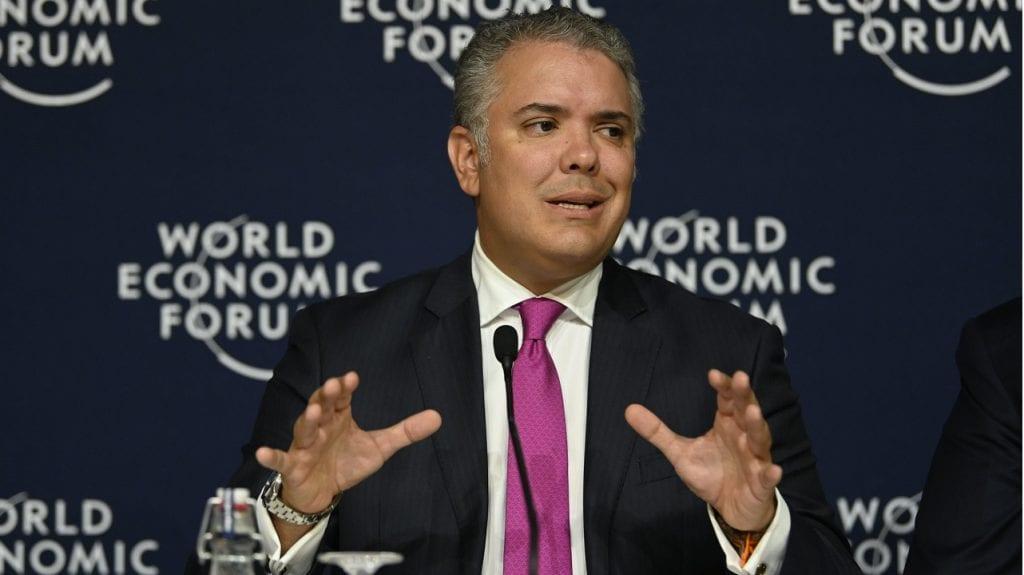 Iván Duque WEF
