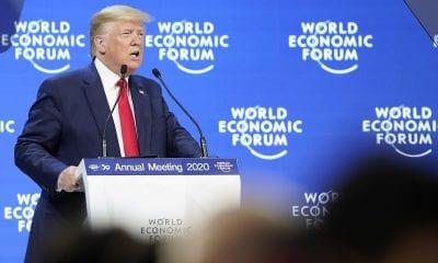 Donald Trump Foro Económico Mundial EFE