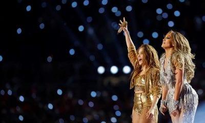 Shakira y Jlo en el Super Bowl del 2020
