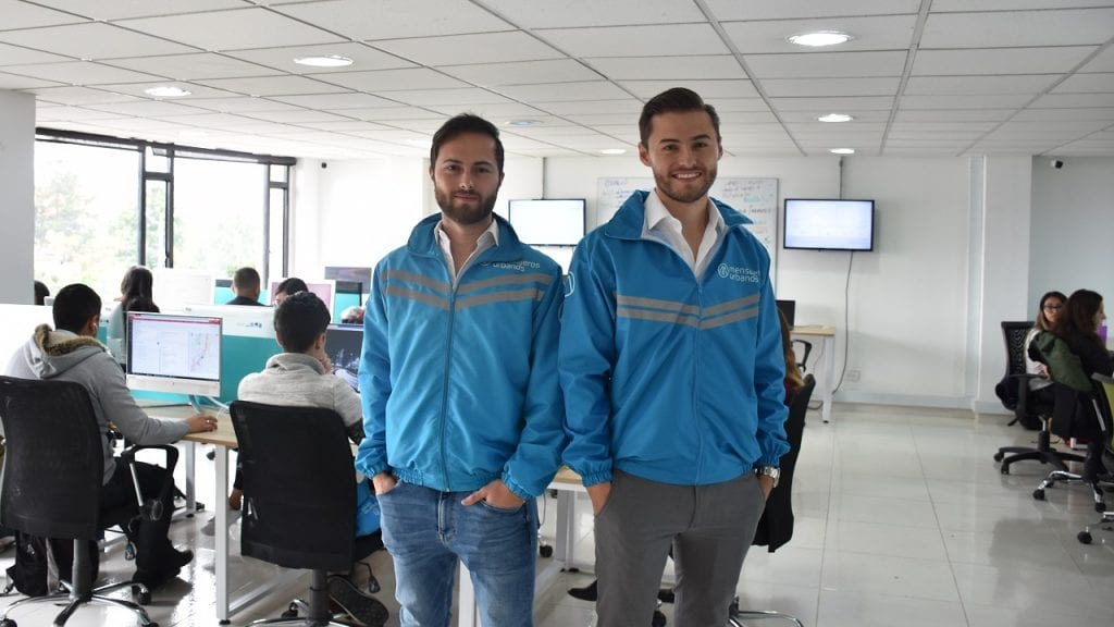 Juan Pablo Pineda y Santiago Pineda Mensajeros Urbanos