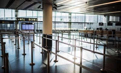 Aeropuerto en Austria tras expansión de coronavirus