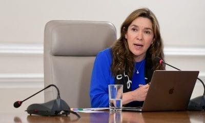 Ministra de Minas y Energía