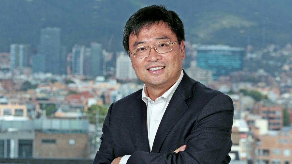 Presidente de Huawei en Colombia