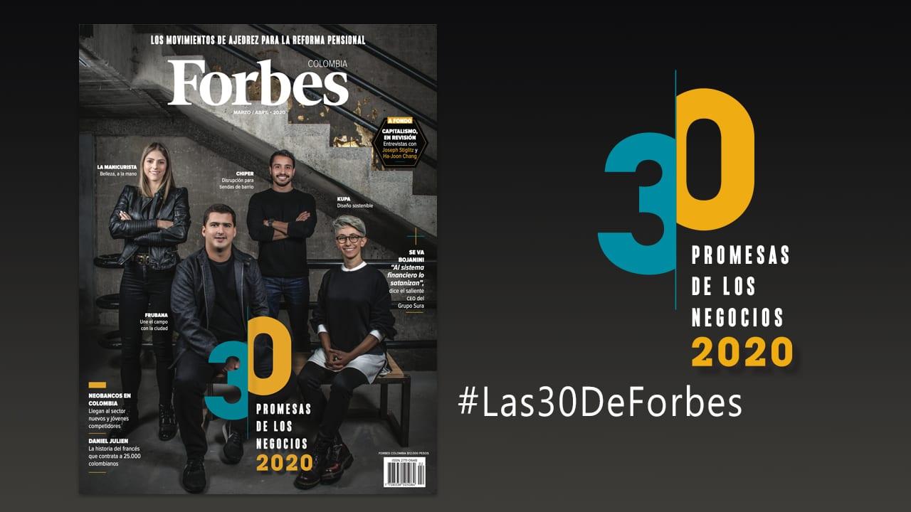 Las 30 de Forbes