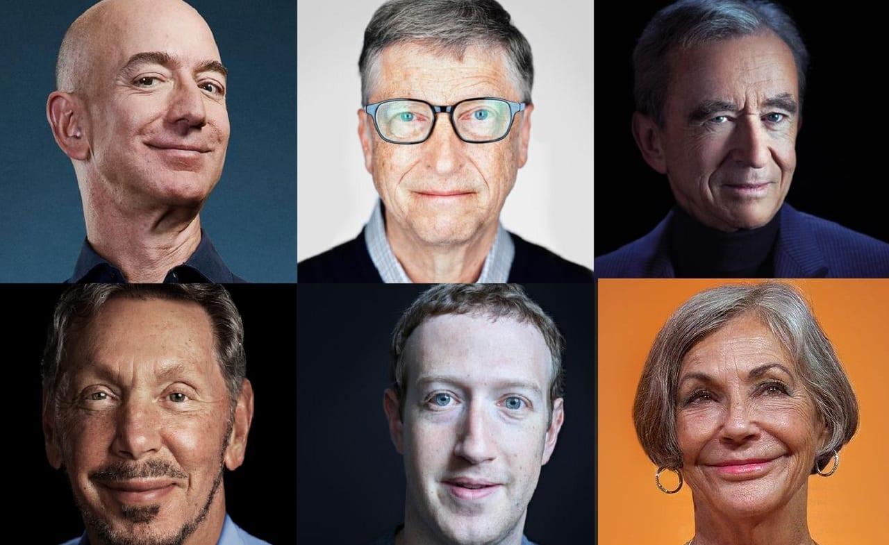 Los 15 más ricos del mundo 2020 - Forbes Colombia