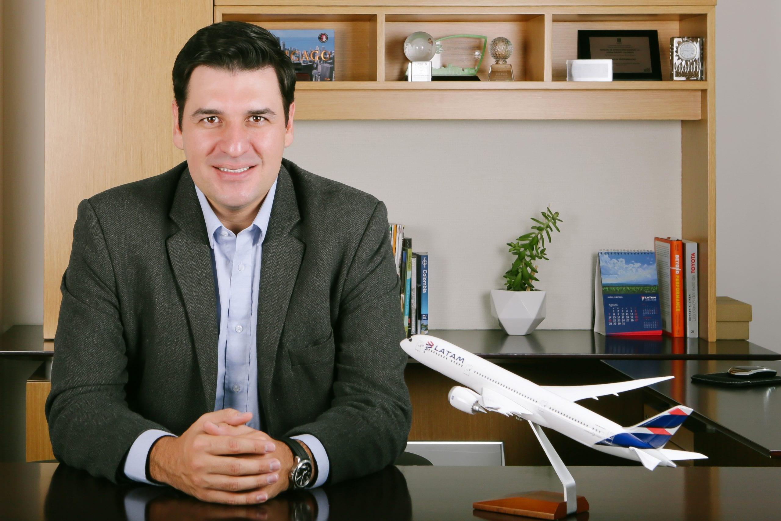 Santiago Álvarez, CEO de Latam en Colombia
