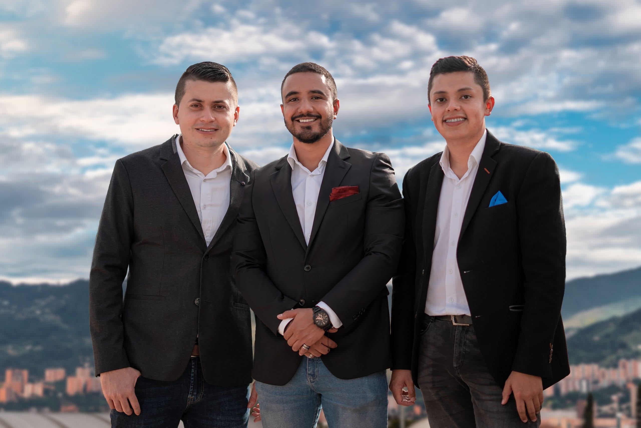 Juan Gabriel González, Juan Esteban Arango y Jorge E. Gil – Foto: Samuel Zuluaga @elotrosamuel