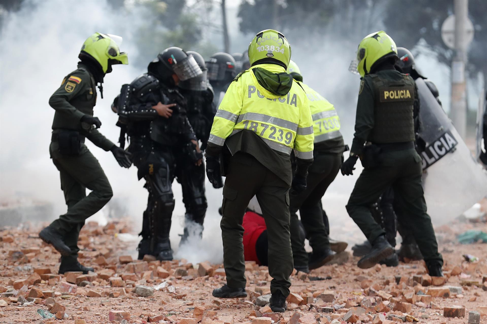 Abusos policiales en Colombia obedecen a fallas estructurales, no a hechos  aislados: HRW