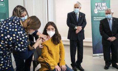 """Presidente Piñera:""""cuando tengamos una vacuna apropiada, vamos a vacunar a los niños menores de 12 años"""""""