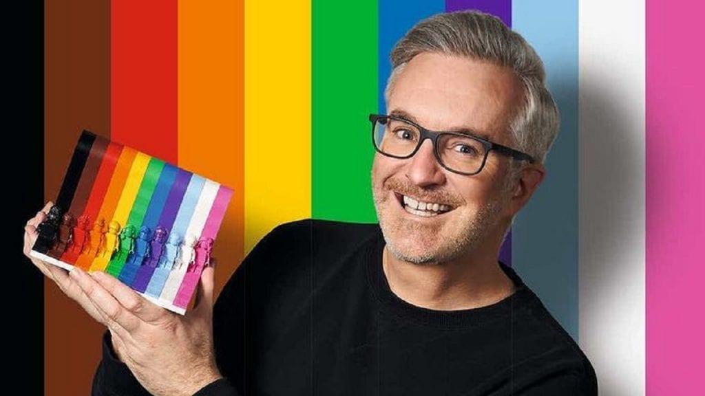 Matthew Ashton, vicepresidente de diseño de LEGO.