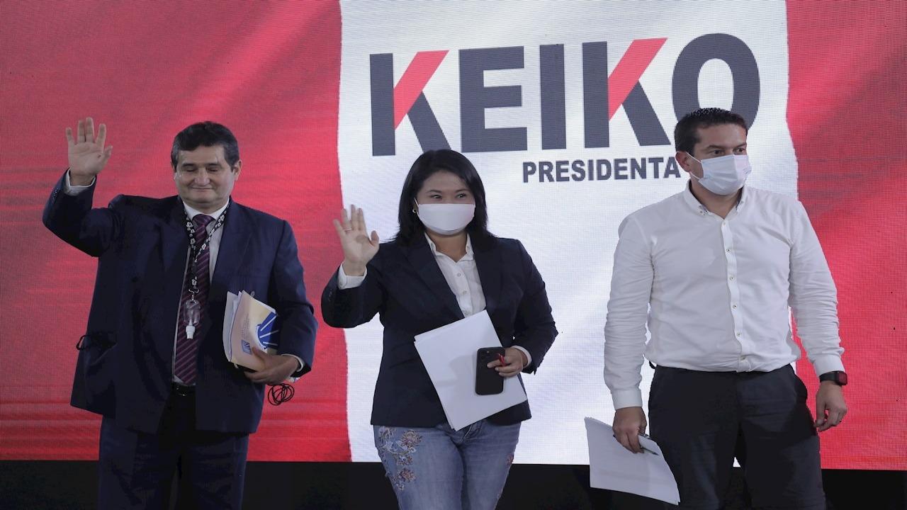 Fujimori pide invalidar 200.000 votos en elecciones presidenciales peruanas