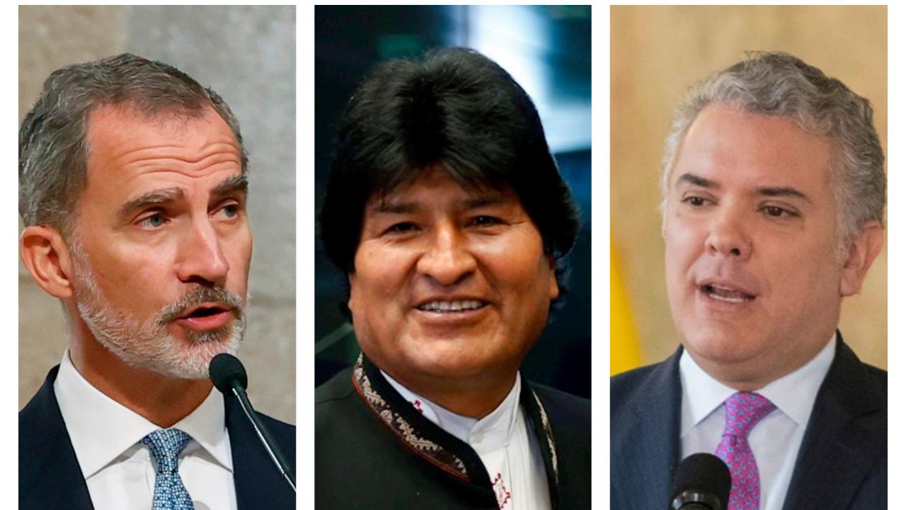 Morales y el rey Felipe VI ya se encuentran en Perú para la toma de mando de Castillo que se llevará a cabo este 28 de julio.