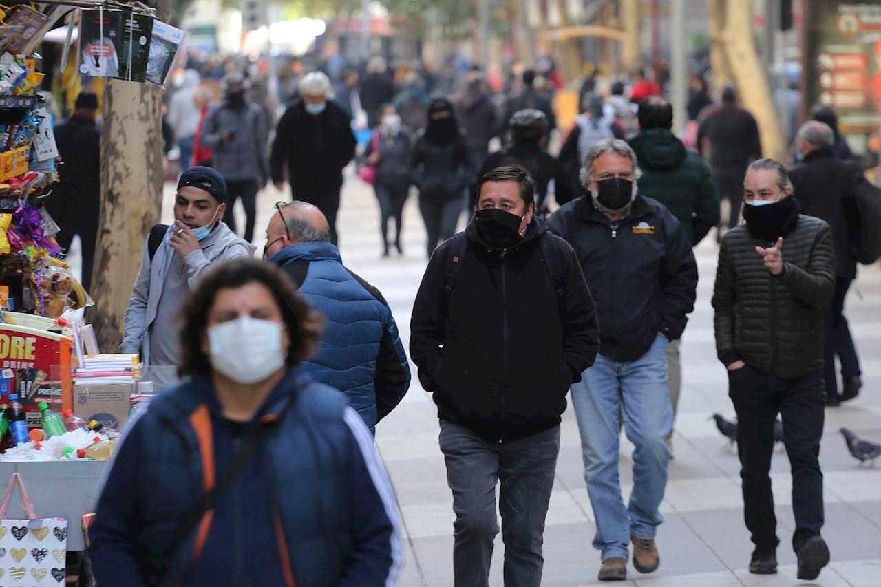 Chile amanece sin territorios en cuarentena por primera vez desde el inicio de la pandemia