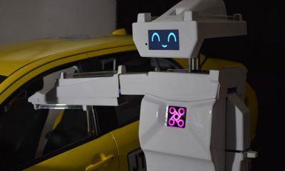 Robot taxis Bogotá
