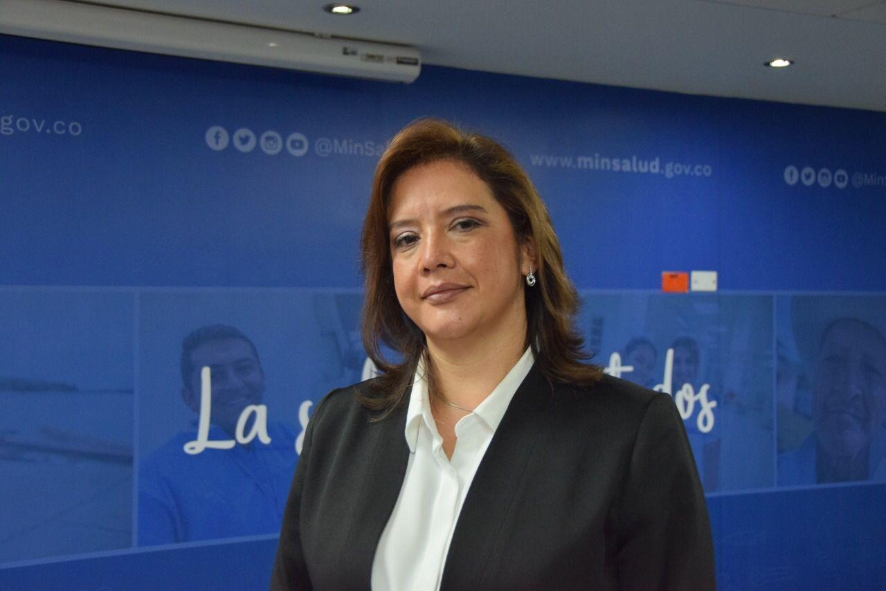 Viceministra de Protección Social María Andrea Godoy